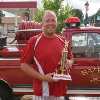 2nd Place Men's Division - Doug Trede Ralston Fire